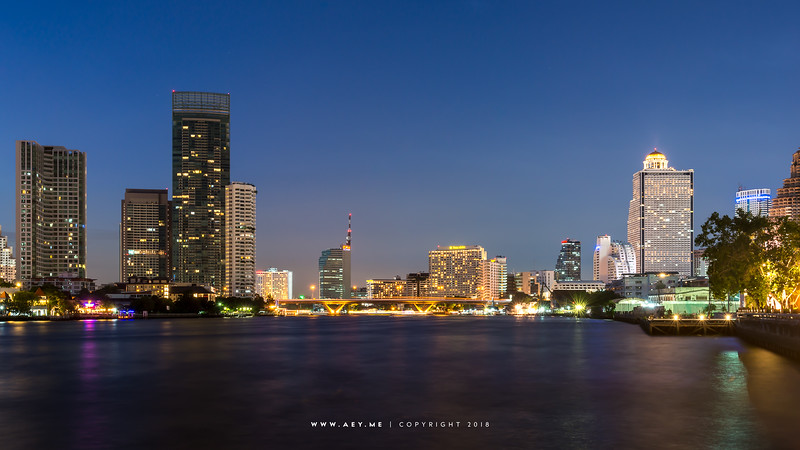 Bangkok and Chao Phraya River