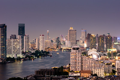 Chao Phraya River from Above