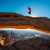 Over the Mesa Arch