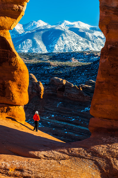Under the Delicate Arch