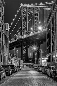 Down Under the Manhattan Bridge Overpass