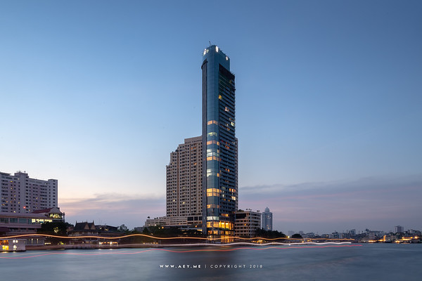 Twilight at Banyan Tree Residences