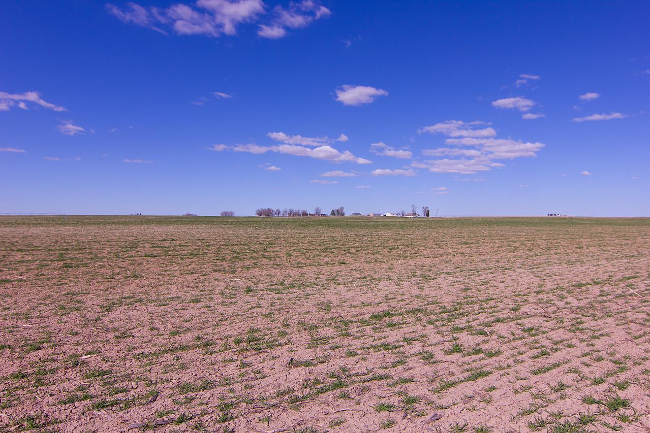 Farm by itself in Idaho