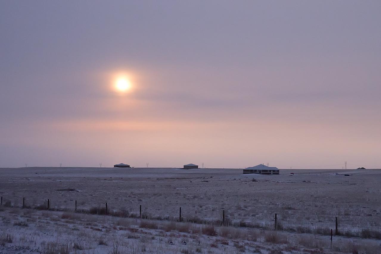 Cold Nebraska Morning