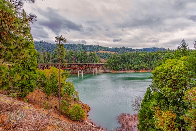 Peyton Bridge over Lost Creek Lake