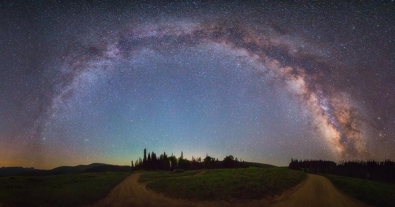 Paths Under the Milky Way