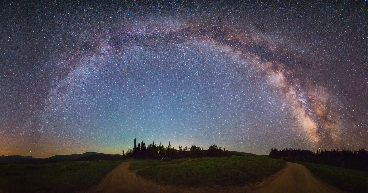 Paths Under the Milky Way