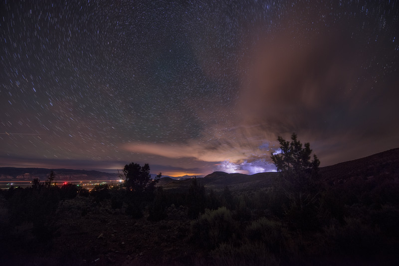 Lightning Storm to the North