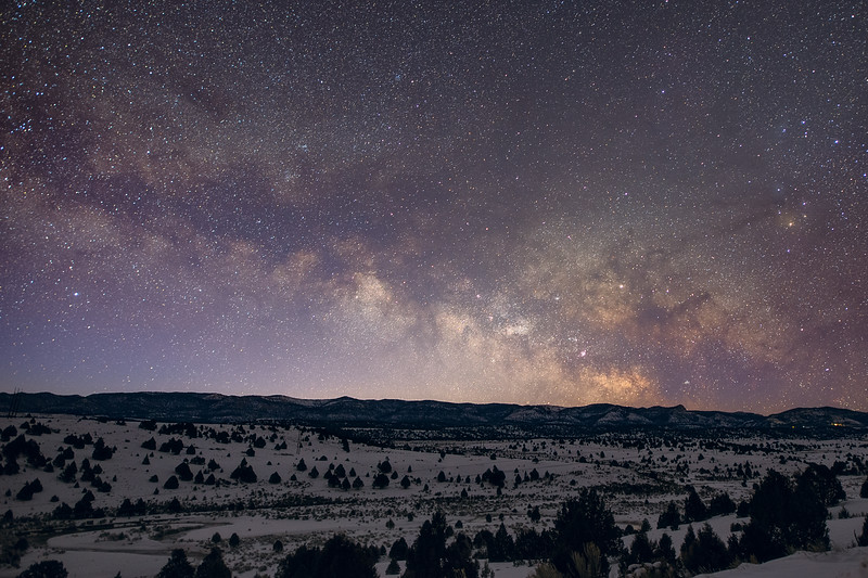 Milky Way in Dixie National Forest