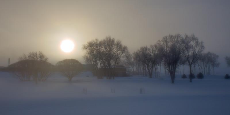 Foggy Fillmore Sunrise