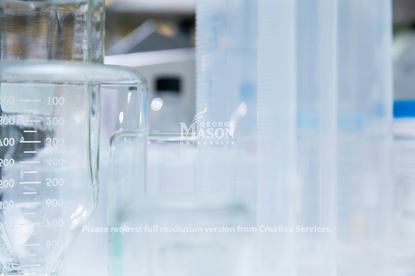 Close up lab shots.  Photo by:  Ron Aira/Creative Services/George Mason University