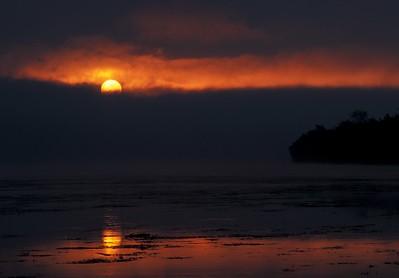 Algonkian Fire Filled Sunrise ALG