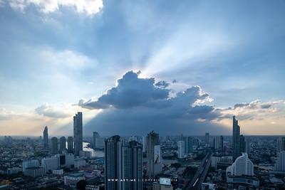 Bangkok and Chao Phraya River