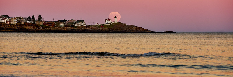 Nubble Lighthouse, York, Maine (Panoramic)