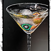 Martini in Art Glass