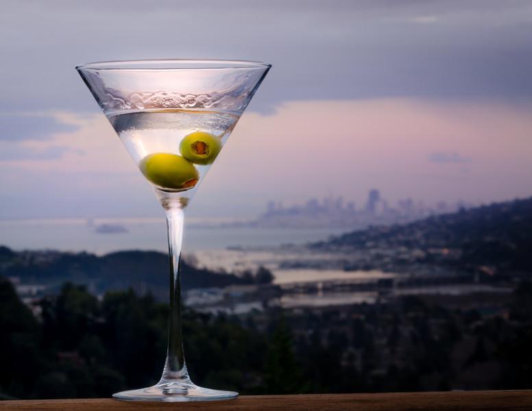 03-01-14 Martini & SF Skyline