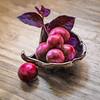 Cherries in small dish