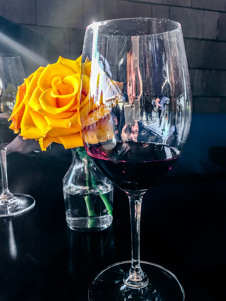 01-02-15 Wine & Roses at Luna Blu for lunch