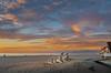 01-19-14 Oxnard Sunset from Larry & Debby's deck.
