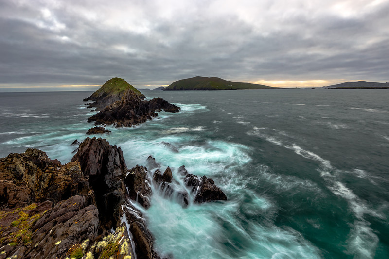 Blasket Islands from Dunmore Head