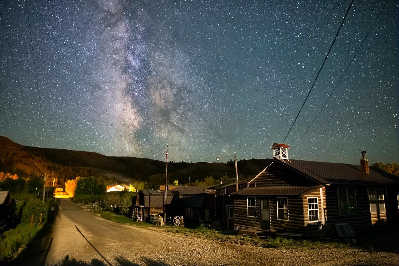 Milkyway Over Atlantic City Wyoming
