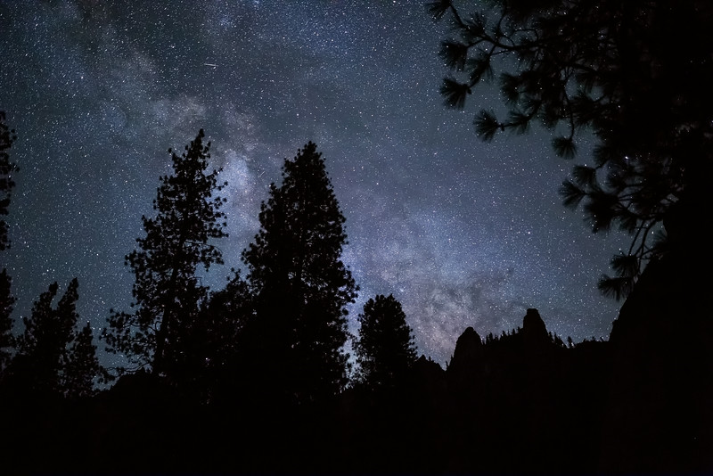 Cathedral Spires Against the Milky Way
