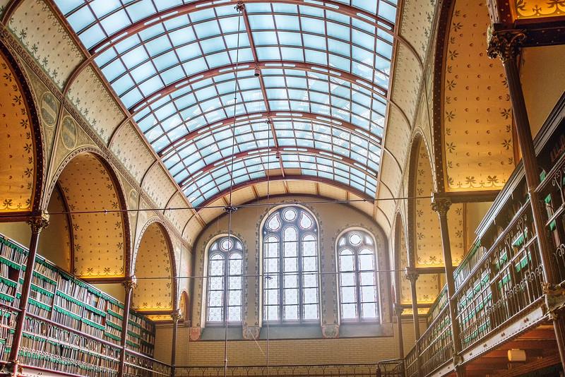 Inside Rijks Museum Library
