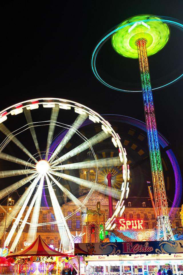 A Fair in Dam Square
