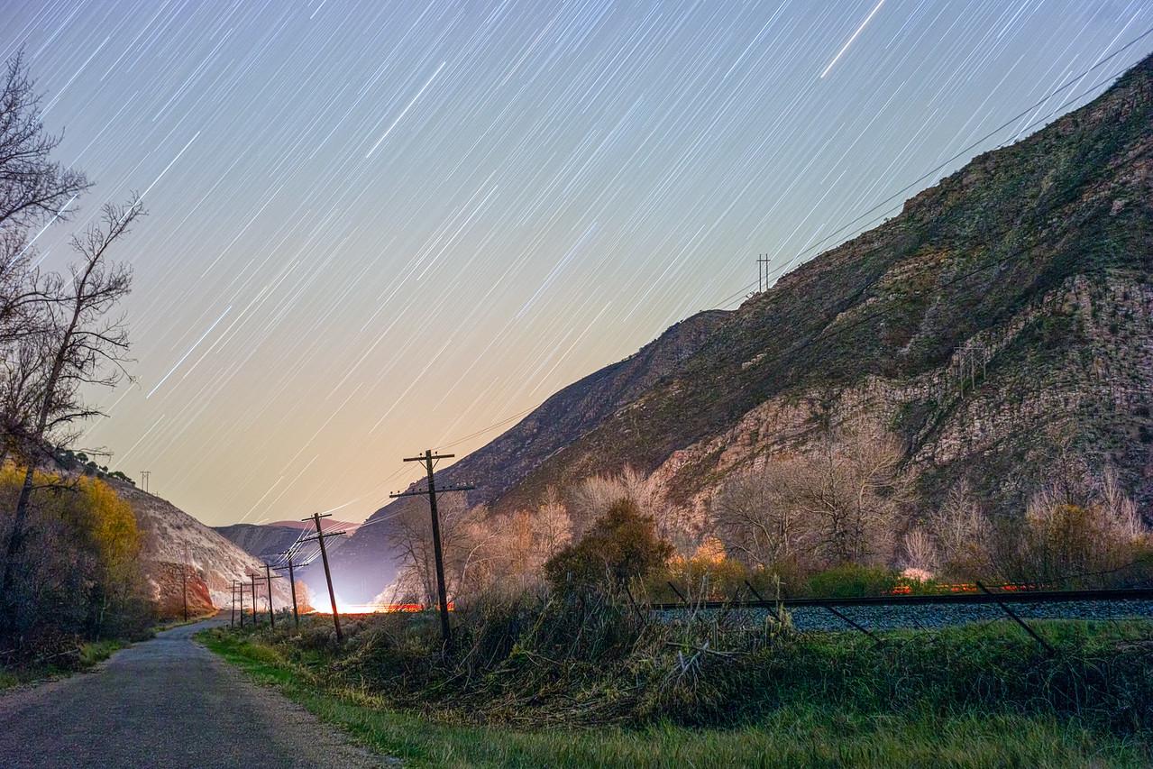 Beside the Train Tracks