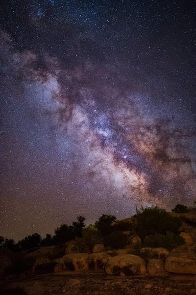 Milky Way at Natural Bridges