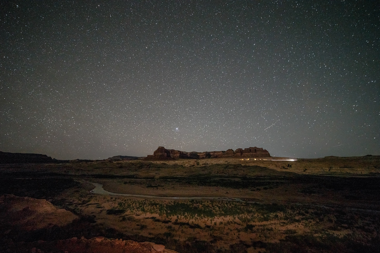 Stars over the Dirty Devil River