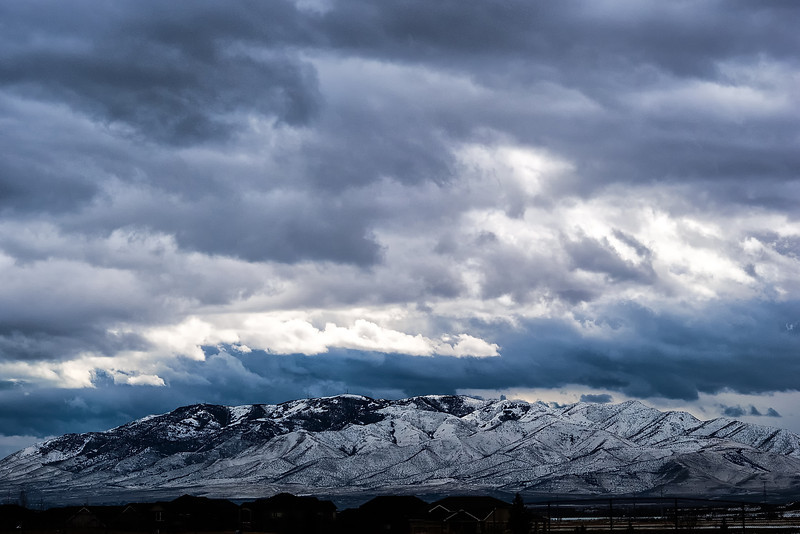 Clouds Above Lehi
