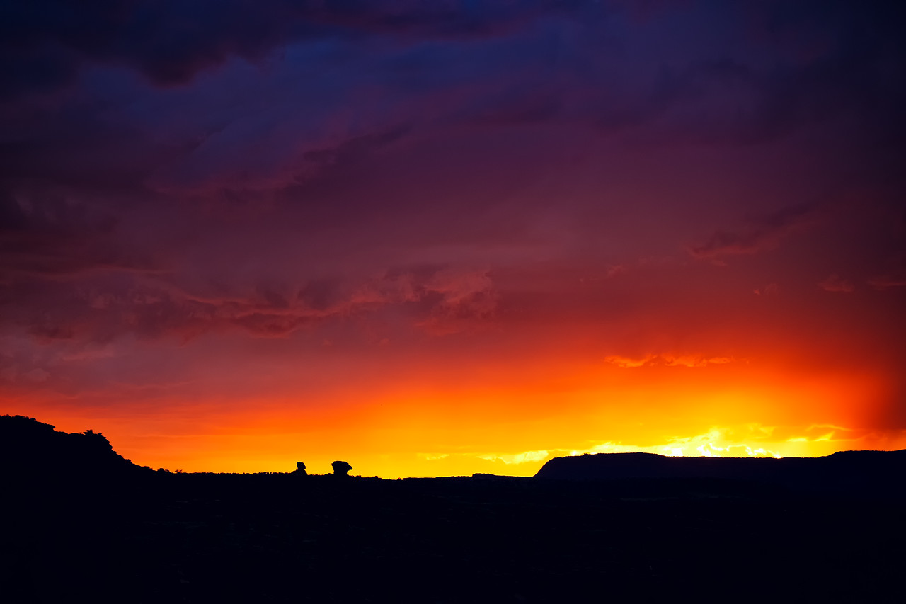 Sunset in Capitol Reef