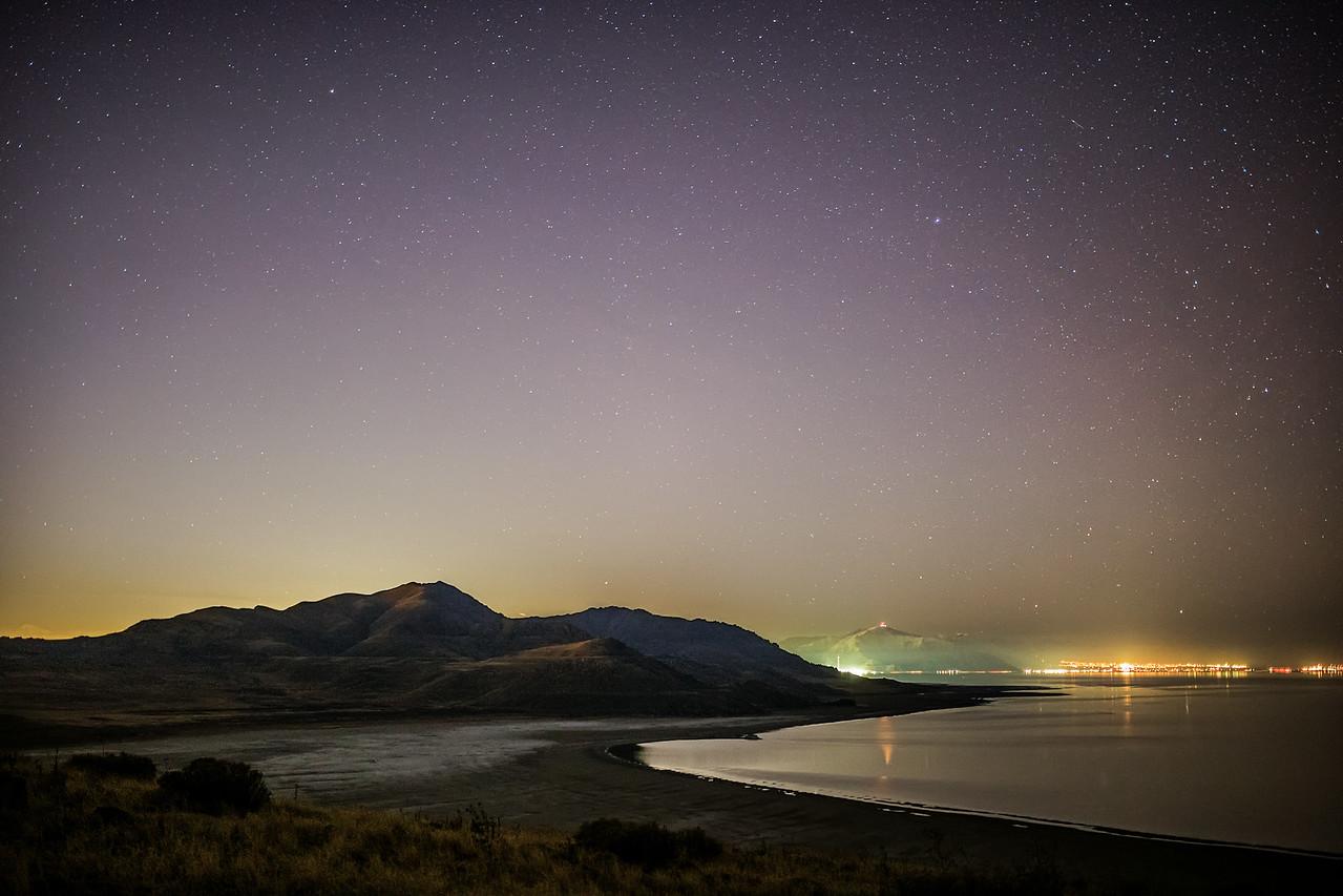 White Rock Bay and Frary Peak