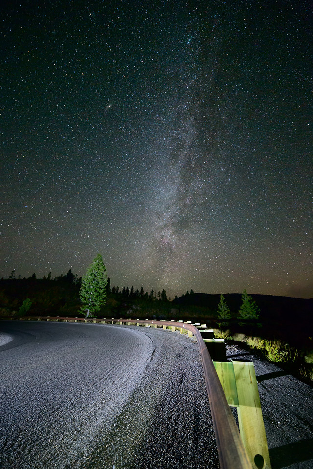 Left Turn at the Milky Way