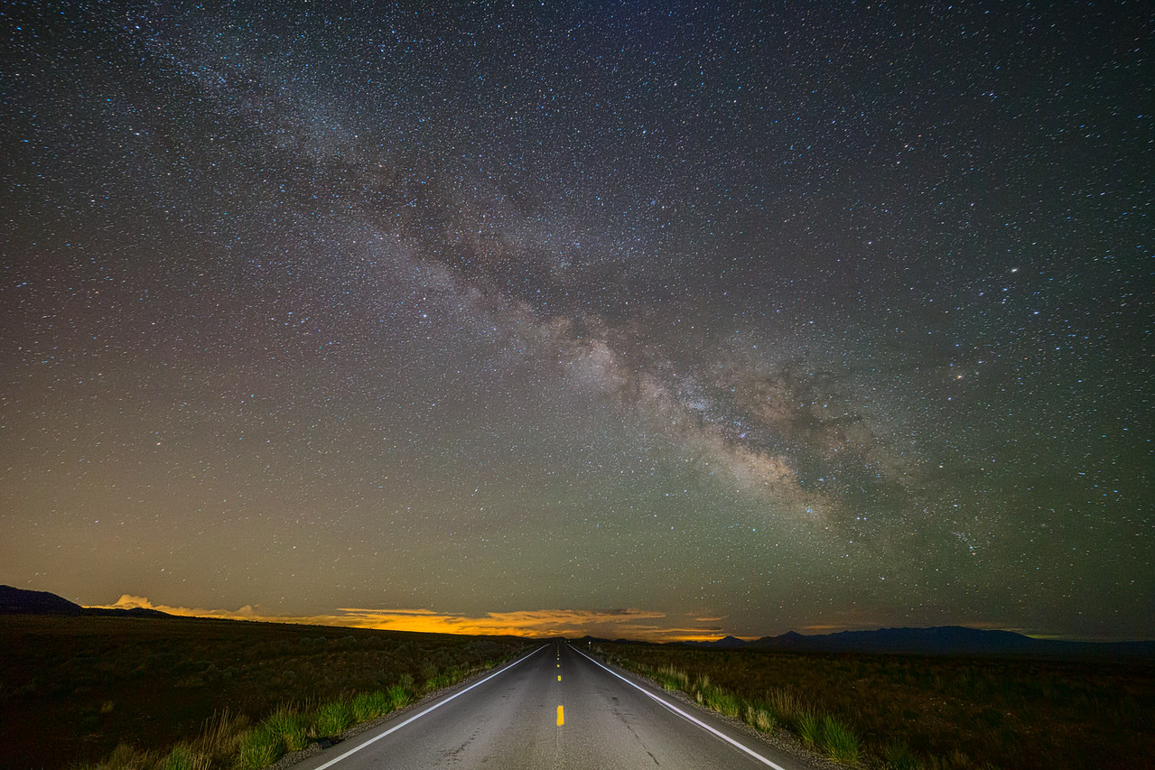 A Night on the Road