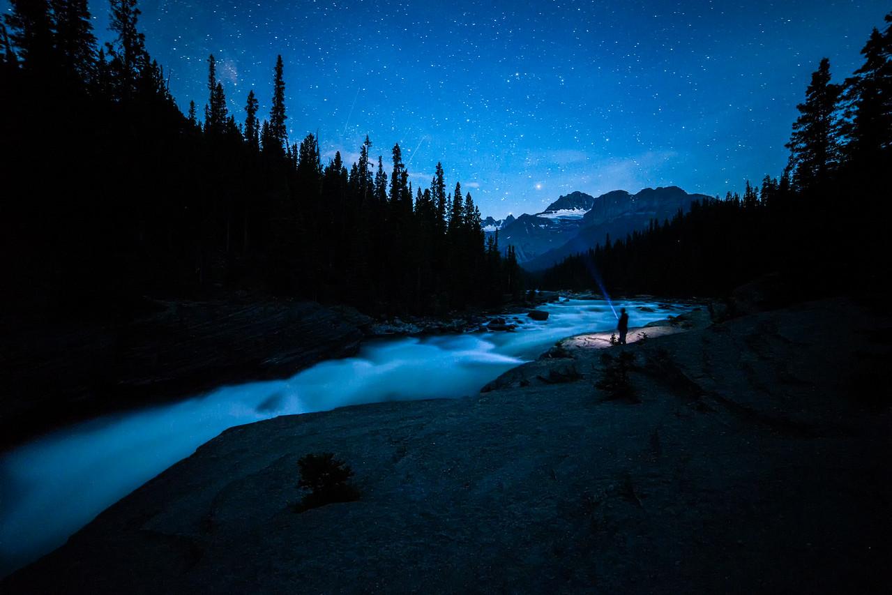 Star Gazing at Mistaya Canyon