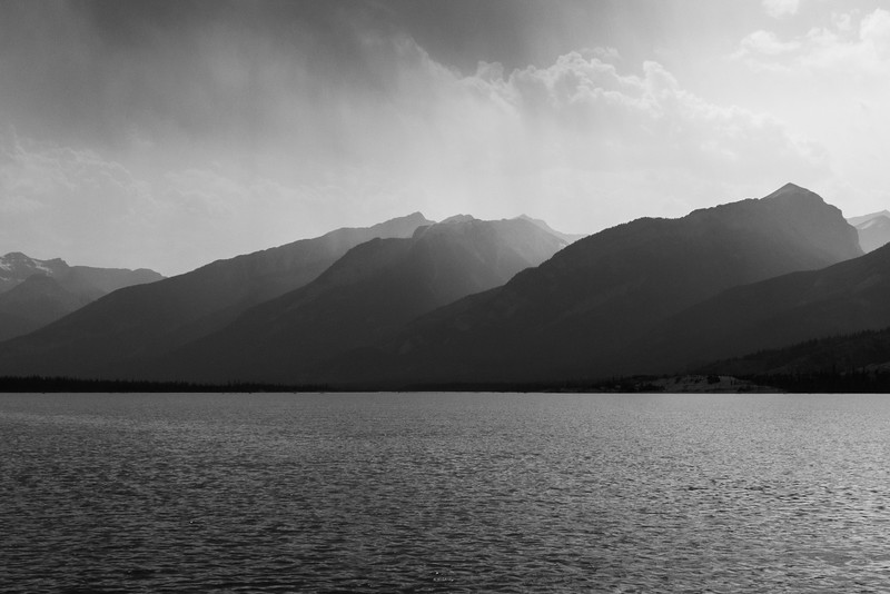 Rainfall Near Jasper Lake