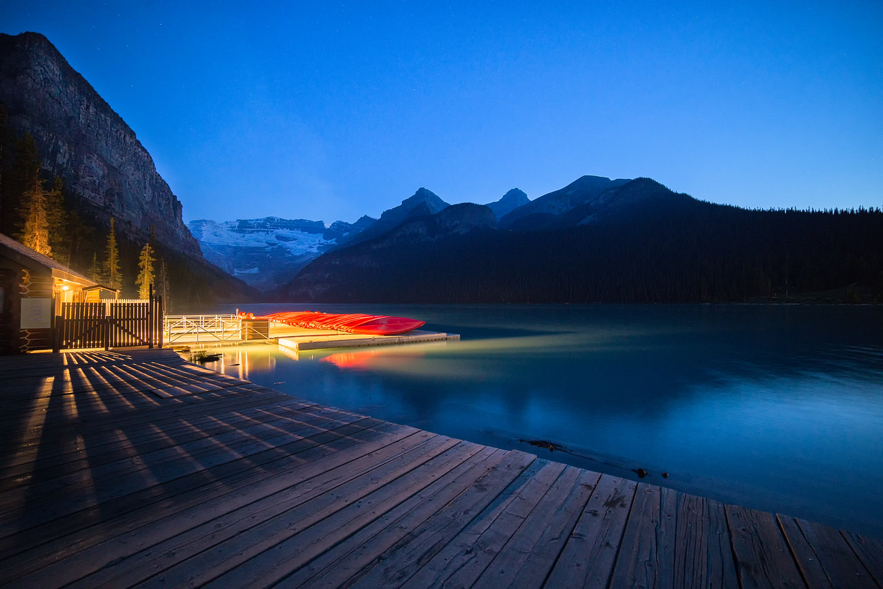 Lake Louise Boat House