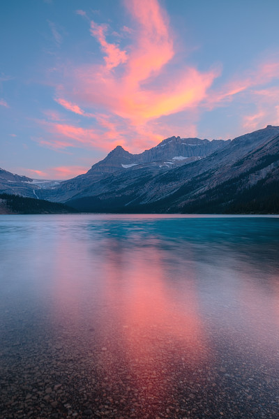 Bow Lake Sunset