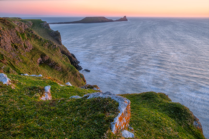 Dusk at Rhossili