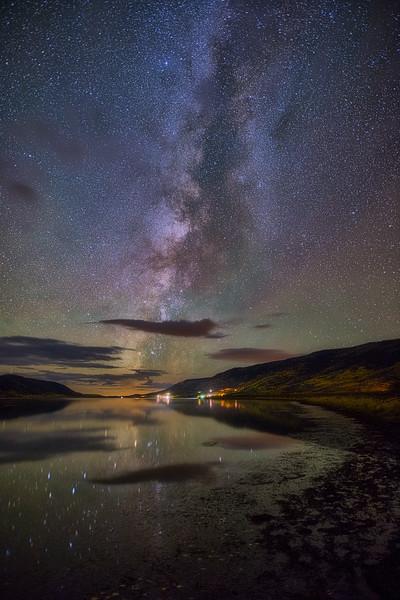 Fish Lake and the Milky Way