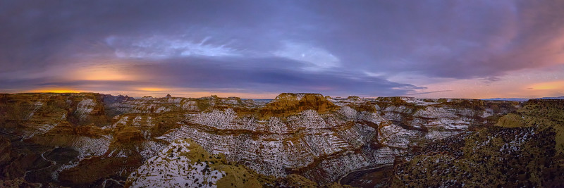 A Night at San Rafael Swell