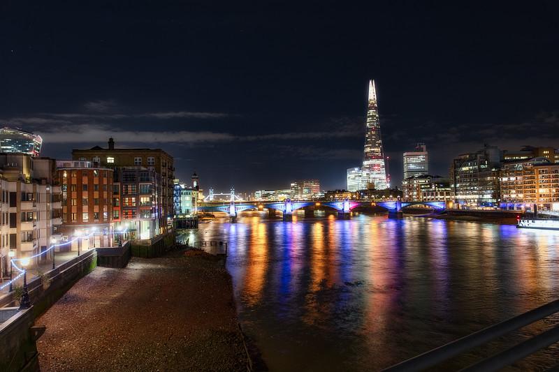 View from Millennium Bridge
