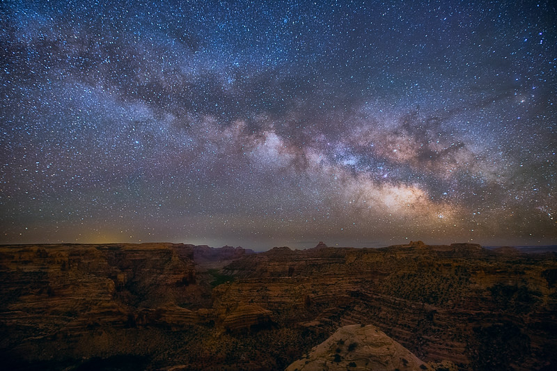 Milky Way over San Rafael Swell