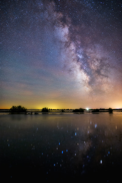 Milky Way over Carey Lake ID