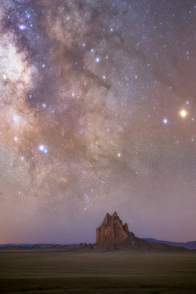 Shiprock Before Dawn