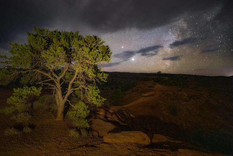A Night at Capitol Reef
