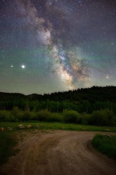 Milky Way near Taylor Fork