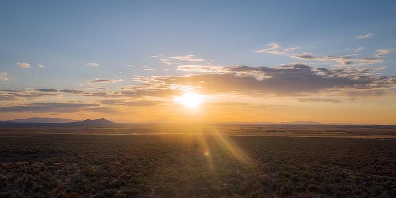 Sunset in Central Utah